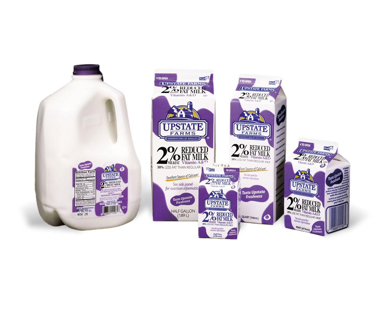Upstate Farms Milk Packaging – Jonathan Forward
