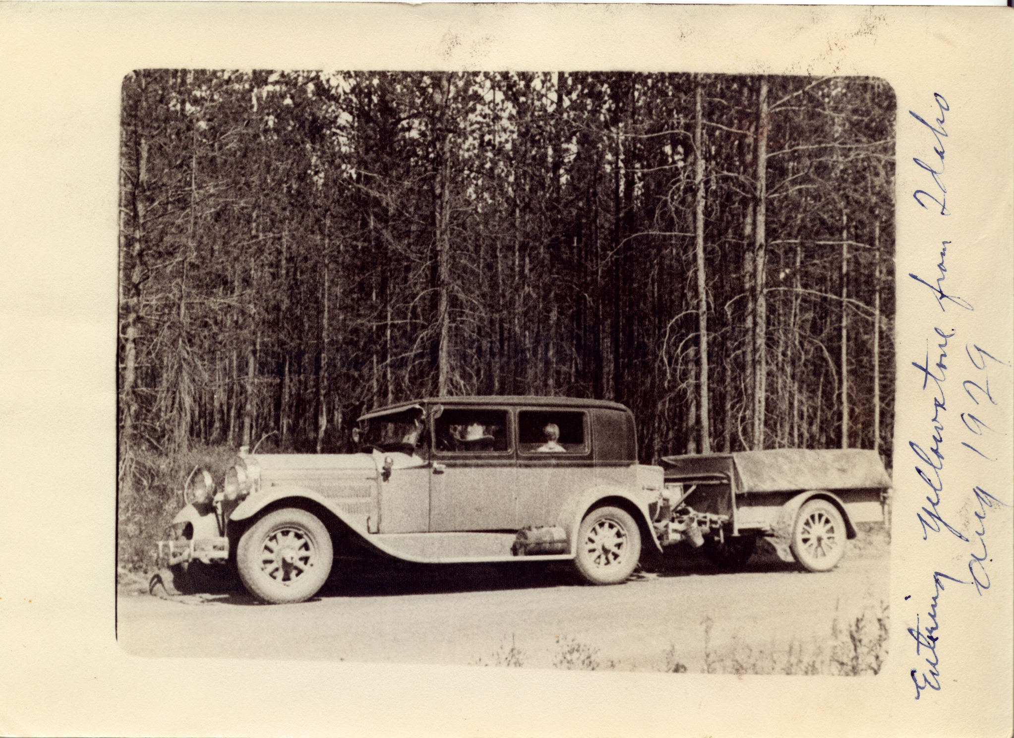 1929 Hudson and Gilkie trailer